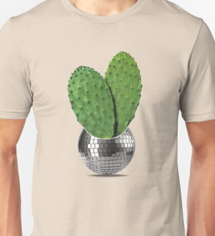 Cactus disco party Unisex T-Shirt