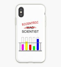 eccentric scientist iPhone Case