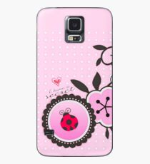 Miraculous Ladybug / Marinette Dupain-Cheng - Pink polka dot flower design Case/Skin for Samsung Galaxy