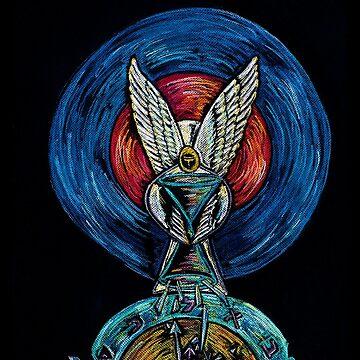Melchizedek Shattering Time by RobinMain