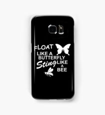 Muhammad Ali - Float Like a Butterfly, Sting like a Bee Samsung Galaxy Case/Skin