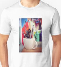 Still Life with Brushes Unisex T-Shirt