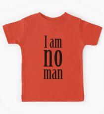 I am no man Kids Clothes