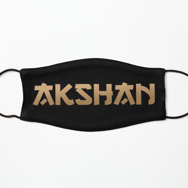 Akshan LoL Kids Mask