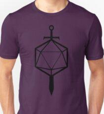 d20 Sword T-Shirt