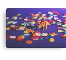 Party Animal! Canvas Print