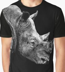 SAFARI PROFILE - RHINO BLACK EDITION Graphic T-Shirt