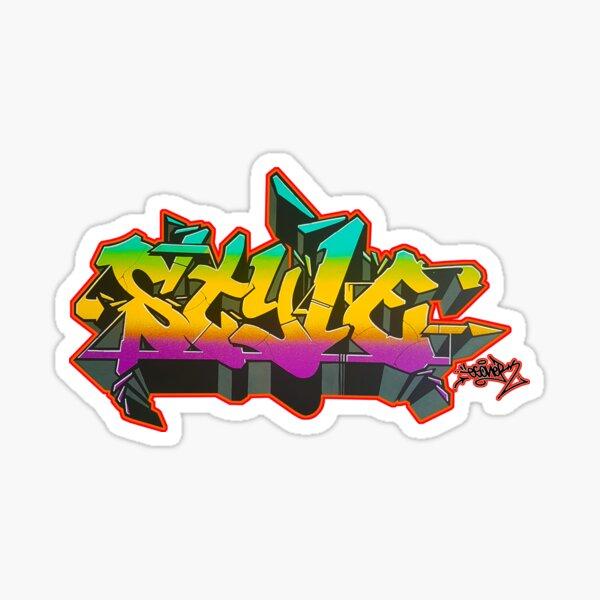 STYLE BY ESONE URBAN GRAFFITI STREET STYLE  Sticker