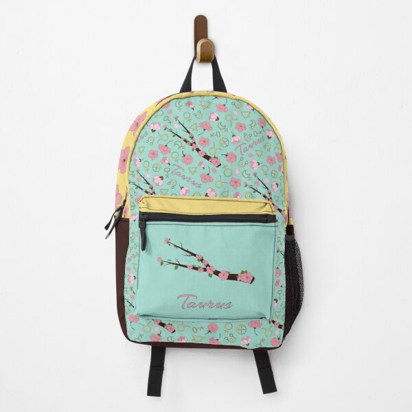 Taurus Day - Astrological and botanical pattern with a tree branch constellation Backpack