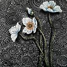White Poppies I by Cherie Roe Dirksen
