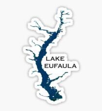 Lake Eufaula Alabama Sticker