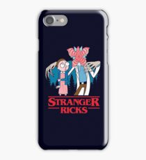Stranger Ricks iPhone Case/Skin