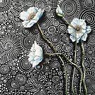White Poppies II by Cherie Roe Dirksen