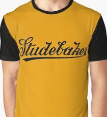 Retro dark classic car Studebar 1917 logo Graphic T-Shirt