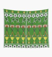 Sporty Knit Wall Tapestry