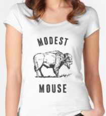 Modest Mouse Buffalo Women's Fitted Scoop T-Shirt