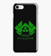 NAKATOMI PLAZA - DIE HARD BRUCE WILLIS (GREEN) iPhone Case/Skin