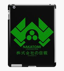 NAKATOMI PLAZA - DIE HARD BRUCE WILLIS (GREEN) iPad Case/Skin
