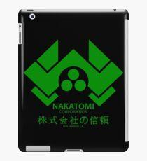 NAKATOMI PLAZA - DIE HARD BRUCE WILLIS (GREEN) iPad Case/Skin
