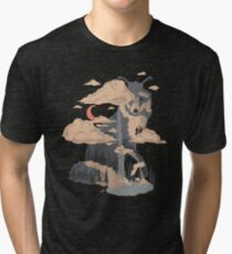 At the Foot of Fox Mountain... Tri-blend T-Shirt