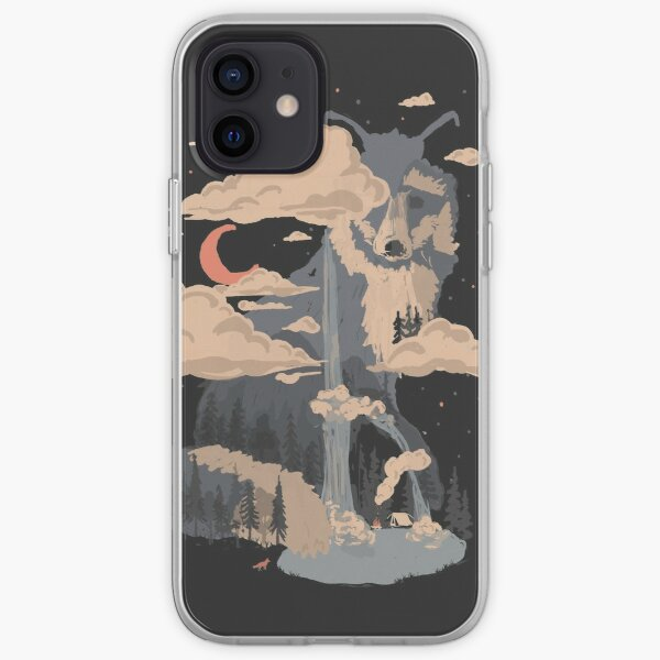 At the Foot of Fox Mountain... iPhone Soft Case