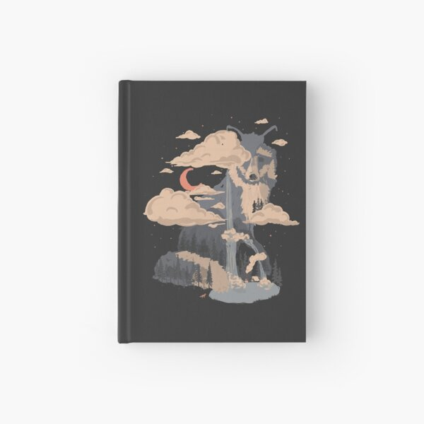 At the Foot of Fox Mountain... Hardcover Journal