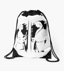 a-ha Ink Drawstring Bag