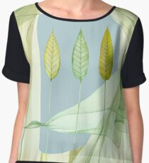 Looking through the window Women's Chiffon Top