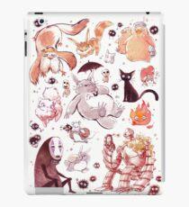 Ghibli Creatures iPad Case/Skin