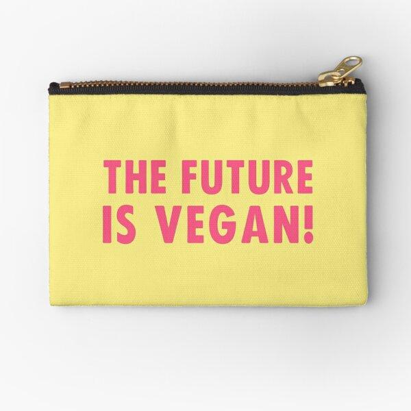 The Future is Vegan! Zipper Pouch