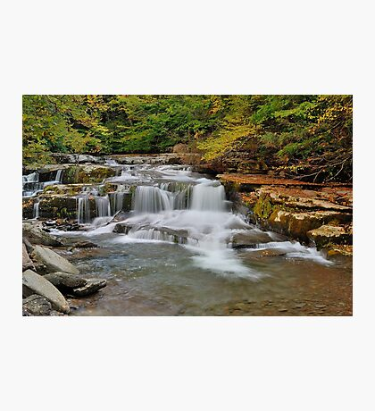 The Roar of Falling Water Photographic Print