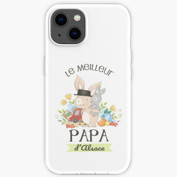 Le meilleur papa d'Alsace iPhone Soft Case