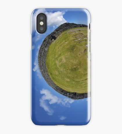 Fortified Ball - Inside Dun Aengus stone fort iPhone Case