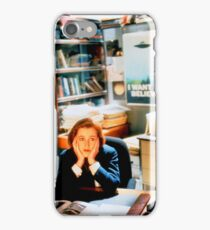 DANA SCULLY x files iPhone Case/Skin