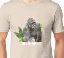 Remembering Harambe  Unisex T-Shirt