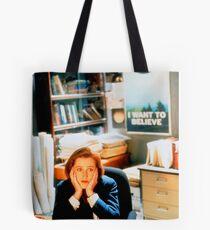 DANA SCULLY x files Tote Bag