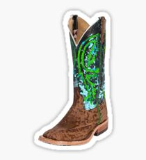 This Boot Was Made For Walkin' Sticker