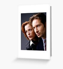 The X Files - #1 Greeting Card
