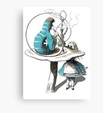 Alice wants a toke Canvas Print