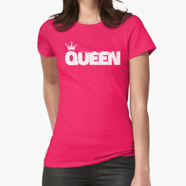 Queen T-shirt moulant