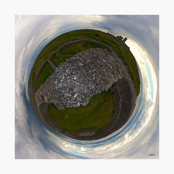 Dun Eochla, Inishmore, Aran Islands Photographic Print