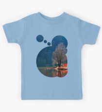 Gone fishing | waterscape photography Kids Clothes