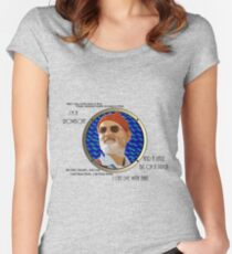 I'm a Showboat and a Little Bit of a Prick Women's Fitted Scoop T-Shirt