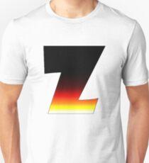 """Z"" Letter Comic Book Style Unisex T-Shirt"