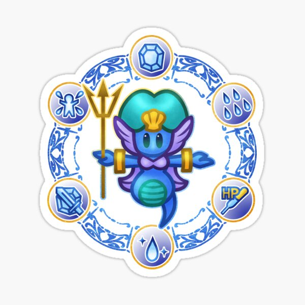 Undine  Sticker