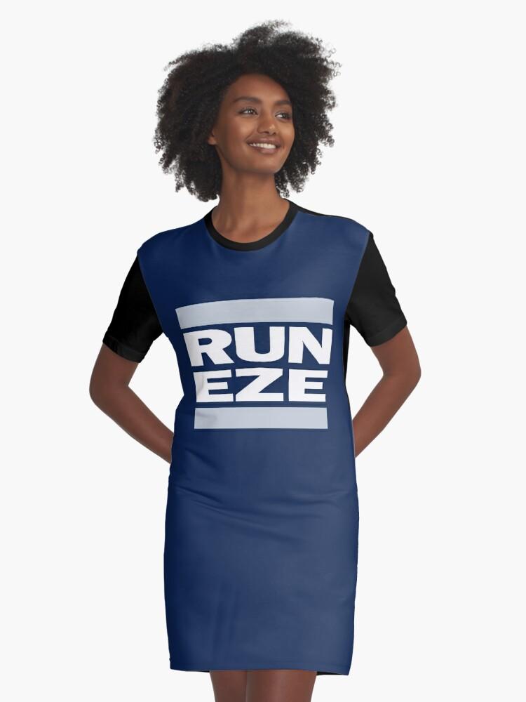 the best attitude dc005 d16f5 'RUN ZEKE ELLIOTT! - Ezekiel Elliott Shirt' Graphic T-Shirt Dress by  SenorRickyBobby