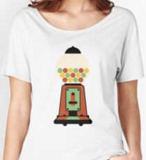 Gumball Machine | Toy | Retro Art Women's Relaxed Fit T-Shirt