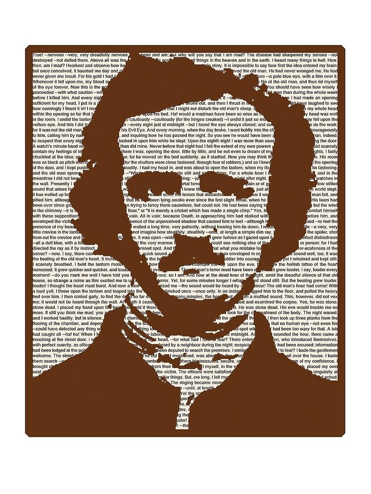 Edgar Allan Poe w/ border! by MrMcBelley