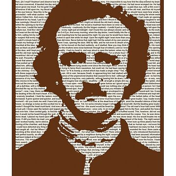 Edgar Allan Poe w/ border! by MrMcBelley