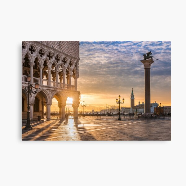Sunrise in Venice Canvas Print